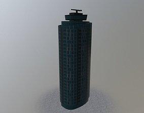 3D model London Office Tower