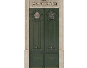 Entrance classic door 28 3D model