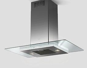 3D model Elica Flat Glass Plus Island