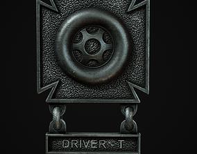 Driver Badge 3D model