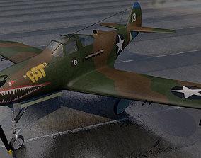 3D model Bell P-39Q Airacobra