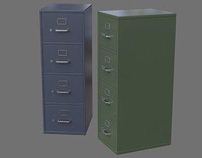 Filing Cabinet 1A 3D model
