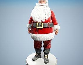 santa Santa Claus Rigged 3D