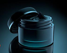 Creme Jar v001 3D model