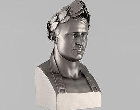 Printable bust of Napoleon