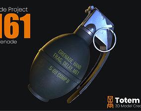 M61 Frag Grenade 3D model