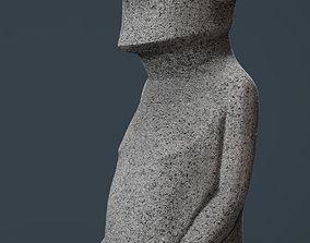 3D model MOAI STATUE