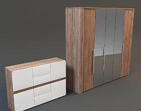 wardrobe commode 3D model