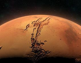 Mars - High Poly Sculpted Model 3D