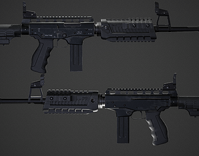 PP-91 Cedar With upgrades 3D asset realtime
