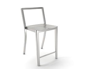 emeco counter stool 3D