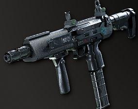 3D asset SCMG-19 Sub Machine Gun