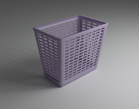 3D container Laundry Basket