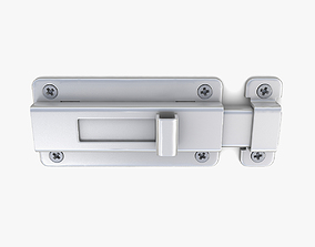 Door latch 04 3D model