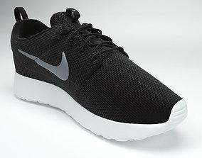 Nike Roshe One shoes 3D model
