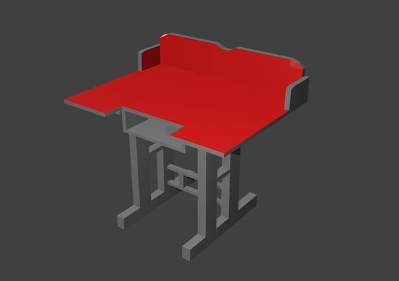 Study Table textured