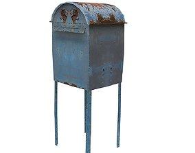 3D model Post Box 01 02 F