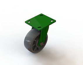 wheel for containers 3D printable model cargo-container
