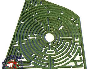 3D model maze 01
