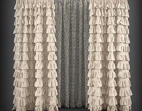 Curtain 3D model 16