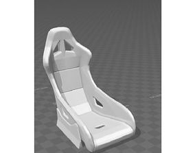 rc drift car 1 10 scale seat 3D printable model