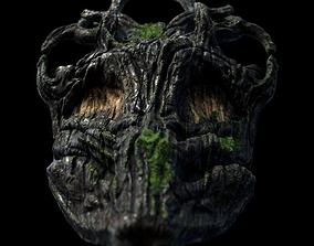 Totem Corona render scene and Substance Painter 3D model