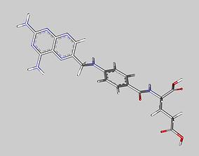 3D model Aminopterin molecule