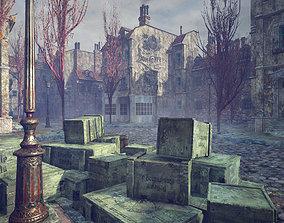3D asset Victorian Alleys