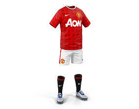 3D Soccer Clothes Manchester United