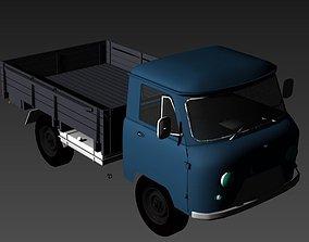 Soviet car yaz golovastik Yaz 3303 3D model russian