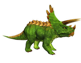 3Dfoin - Triceratops animated