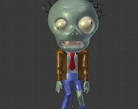 Chibi Zombie 3D asset