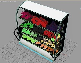 3D model vegetable collection