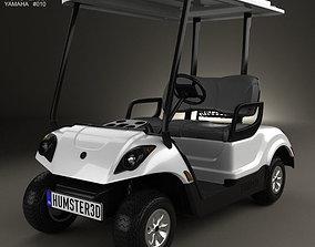 3D Yamaha Golf Car Fleet 2012