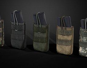 3D asset Magazine pouch 01