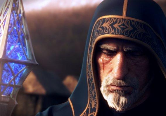 Fantasy Teaser Trailer Animation Still: Wizard
