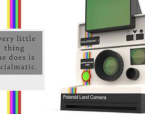 3D printable model Polaroid Land Camera 1000