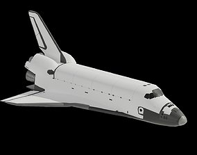 Space Shuttle low poly FREE 3D asset realtime