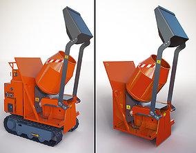 HINOWA self-propelled small-sized equipment 3D model 2