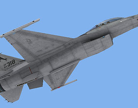 3D asset F-16C Fighting Falcon USAF