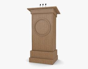 Podium furniture 3D model