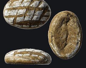3D asset Bread A