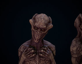 THe old one ALien 3D asset