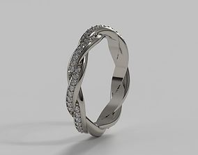 3D printable model Twist Eternity Band