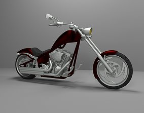 Big Dog K9 Chopper Motorcycle 3D Printable