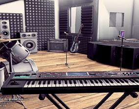 RECORDING STUDIO 3D model