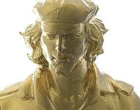 che Guevara 3D print model 3dscan