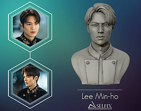 Lee Min Ho 3D portrait model