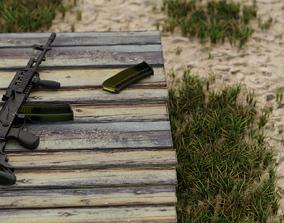 Beryl C Polish Assault Rifle 3D model