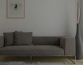 Basic Living Room 3D